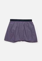 Jockey - Single digital printed loe woven boxer briefs - geo triangle