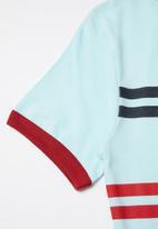 Levi's® - Lvb striped levi's ringer tee - blue