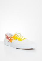 Vans - Ua era - (flame) true white/classic white