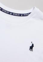 POLO - Rick short sleeve tee - white