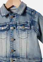 Cotton On - Sonny jacket - light blue