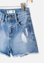 Cotton On - Sunny denim short - blue