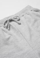 Rebel Republic - Boys fleece shorts - grey