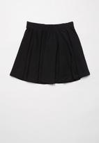Rebel Republic - Girls easy skirt - black