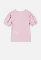 Cotton On - Jasmine puff sleeve top - marshmallow