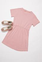 Rebel Republic - Girls jersey dress - dusty pink