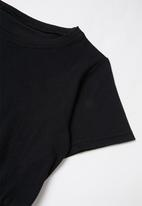 Rebel Republic - Girls jersey dress - black