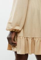 MANGO - Shirt dress lillian - beige