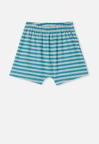 Cotton On - Hudson short sleeve pj set - summer grey marle