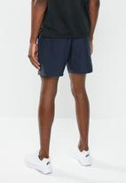 Nike - Nike 7-in run shorts - obsidian & reflective silver