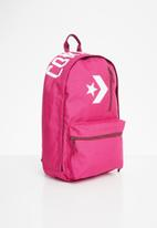 Converse - Converse mini backpack premium collection 10006913-a02 - pink