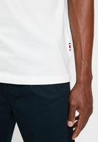 Tommy Hilfiger - Lh rwb signature logo tee - snow white