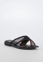 Miss Black - Seleri slide - black