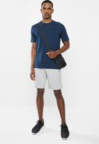 Under Armour - Ua sportstyle lc short sleeve  - navy
