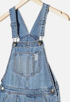 Free by Cotton On - Sophie denim shortall - weekend wash
