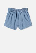 Cotton On - Cassidy shorts - mid wash blue