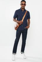 MANGO - Rinse shirt - navy