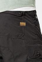 G-Star RAW - Jungle relaxed tapered cargo pant - black