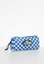 Vans - Off the wall pencil pouch boys - blue & white