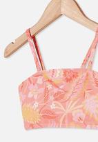 Cotton On - Gwen bikini - retro coral retro floral