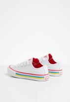 Converse - Chuck Taylor all star - white/carmine pink