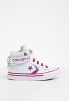 Converse - Pro blaze strap sparkle - white/cactus flower/photon dust