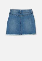 Cotton On - Finn denim skirt - mid wash