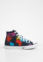 Converse - Chuck Taylor all star worldwide - obsidian/sail blue/university red