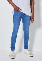 Superbalist - London super skinny jeans - light blue