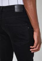 Superbalist - Cali skinny biker jeans - black