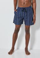 Superbalist - Baja swimshorts - navy stripe