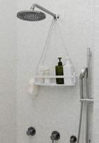 Umbra - Flex single shower caddy - white