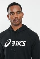 Asics Tiger - Big Asics hoodie - performance black & brilliant white