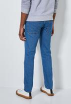 Superbalist - Detroit tapered workwear jeans - mid blue