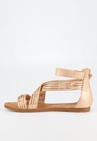 Butterfly Feet - Kamady sandal - rose gold