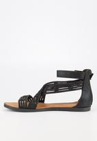 Butterfly Feet - Kamady sandal - black
