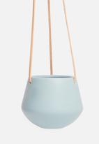 Present Time - Skittle hanging pot small - sky blue