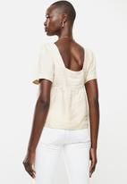 MANGO - Top latino - light beige
