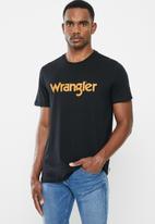 Wrangler - Kabel tee - black