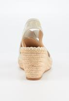 Butterfly Feet - Noa 3 wedge - silver