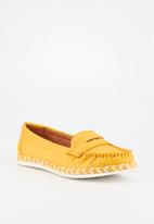 Butterfly Feet - Praise loafer - yellow