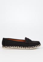 Butterfly Feet - Praise loafer - black