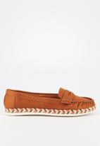 Butterfly Feet - Praise loafer - brown