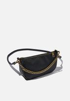 Rubi - Sophia chain cross body bag - black