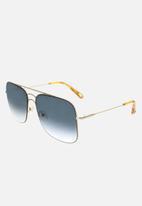 Chloe - Chloe sqaure sunglasses - gold & petrol