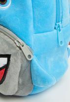 POP CANDY - Shark backpack - light blue