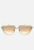 Chloe - Chloe cat-eye sunglasses - gold/gradient brown