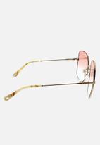 Chloe - Chloe square sunglasses - rose gold & gradient rose azure