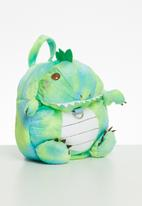 POP CANDY - Dino backpack - green