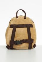 POP CANDY - Boys puppy backpack - brown
